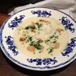 Jerusalem artichoke soup