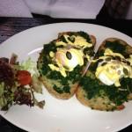 'Quirky' Eggs Florentine