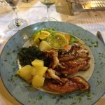 Croatia on a plate - squid'n chard