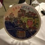 A nice complimentary plate