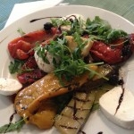 Roast vegetable antipasti
