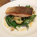 Salmon, green beans & new potatoes