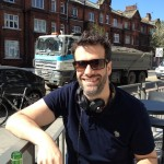 Brigstocke and smoking lorry