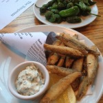 Whitebait & Padron peppers