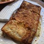 Pastrami pie